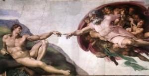 michelangelo's Adam 2