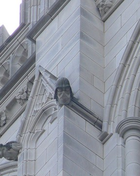 Darth Vader National Cathedral