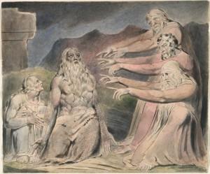 Blake Book of Job 10