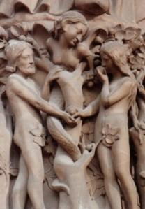 France_Paris_Notre-Dame-Adam_and_Eve-ds