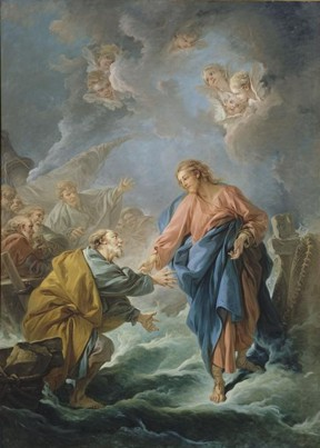 Walk on Water - Francois Boucher