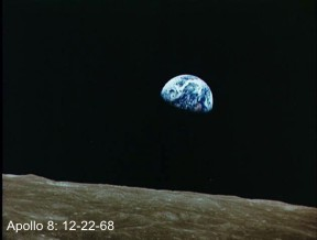 Apollo 8 earth rise