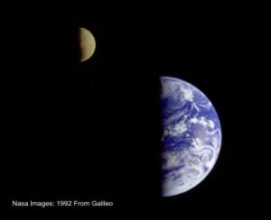 Earth Moon Small