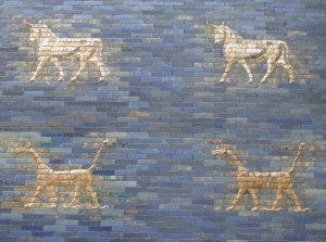Marduk and Adad on the Ishtar Gate