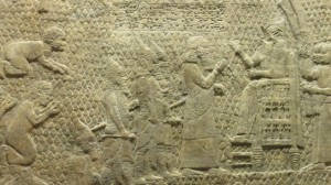 Sennacherib as Prisoners from Lachish are brought