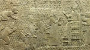 Sennacherib as Prisoners from Lachish are brought
