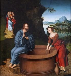 Lucas_Cranach_d.Ä._-_Christus_und_die_Samariterin_(Leipzig) crop