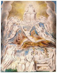 William_Blake_-_Satan_Before_the_Throne_of_God