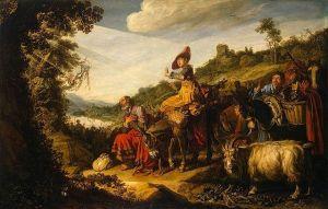 640px-Lastman,_Pieter_-_Abraham's_Journey_to_Canaan_-_1614