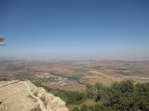 Galilee from Mt of Transfiguration
